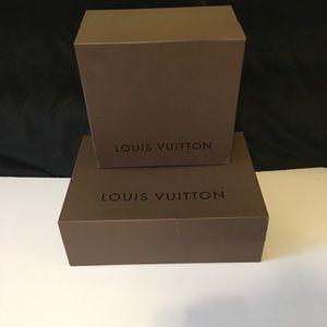 Louis Vuitton Authentic Boxes Lot Of 2